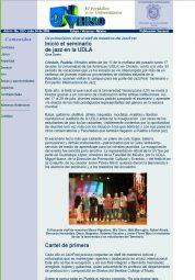Inició el seminario de jazz en la UDLA