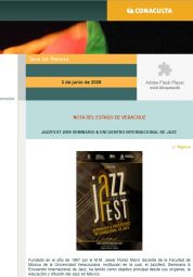 Décima Edición Jazzfest